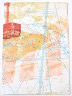 Untitled (Chamonix series) Screenprint, 2013 Emily Moore  Screen Printing, Abstract, Artwork, Prints, Screen Printing Press, Summary, Work Of Art, Auguste Rodin Artwork, Silk Screen Printing