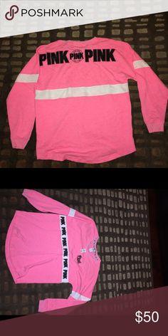 Vs pink crew sweater sz l nwt Vs pink crew sweater sz l nwt PINK Victoria's Secret Sweaters