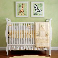 safari baby animal nursery bedding | Handmade Safari Baby Bedding - Photo