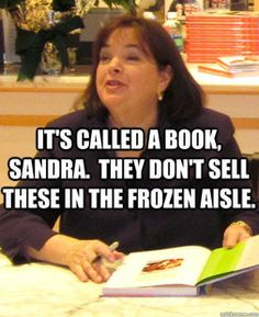 Ina Garten Book Signing with Sandra Lee