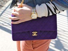 purple Chanel
