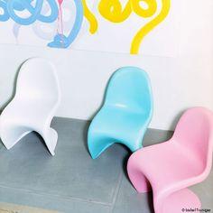 Panton Junior Chair Designer: Verner Panton  Brand: Vitra