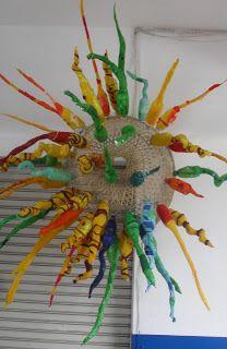 50 best 3d art projects images papier mache 3d art projects school