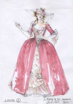 Welcome to the official site of costume designer Carlo Poggioli. Fashion History, Fashion Art, Vintage Fashion, Fashion Design, Drag Clothing, Costume Design Sketch, Theatre Costumes, Fantasy Costumes, Mode Vintage
