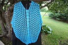 Ravelry: rewound's #15 Cable Panel Shawl