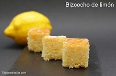 Exquisito bizcocho de limón, sencillo, sano y rápido de preparar. Ideal como merienda y desayuno. Bizcocho que se conserva 5 días.