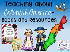 Collaboration Cuties: Teaching about Colonial America- Books and Resources