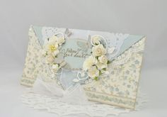 An envelope card using the Easter Greetings collection