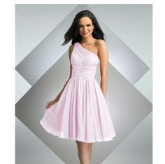 Bari Jay Bridesmaid Dress In Dusty Rose - Like New