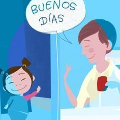 Greetings and daily routines in Spanish. Learning Spanish – Videos for Kids and Children | Rockalingua