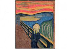 Munch's The Scream collaborative art project