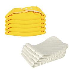 5 Stück Wiederverwendbare Waschbare Verstellbar Babywindeln Baby Windelhose Baby-Tuch-Windel Weicher Stoff, Größe Verstellbar (Gelb) Dazone http://www.amazon.de/dp/B015W6X0XK/ref=cm_sw_r_pi_dp_9jgNwb1HMRBYW