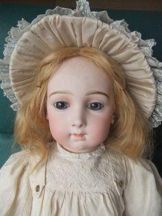 Antique Bebe jumeau triste from belmiranda on Ruby Lane