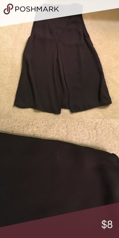 Black H&M tank top, Size 2 Black H&M tank top, size 2, perfect for work or casual wear! Small scuff mark on front left H&M Tops Blouses