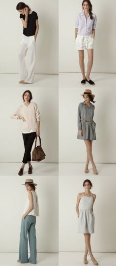Steve Alan's Spring 2011 lookbook -- fresh and effortless.
