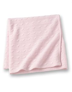 cashmere baby blanket - pink