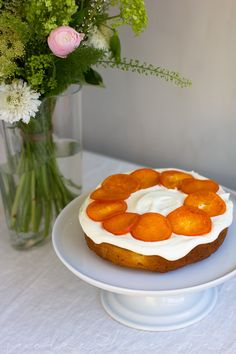 Mango mandarine cake