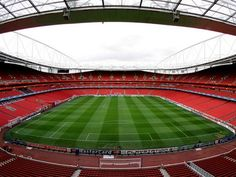 Emirates Stadium in North London - home of Arsenal FC