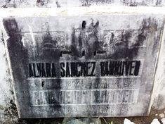 Alvara and Carl van Hoven grave marker, 2012 #kasaysayan