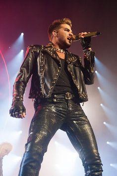 Queen with Adam Lambert at Perth Arena.