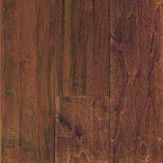 "6"" Engineered Hand Scraped Colonial Walnut Hardwood Floors"