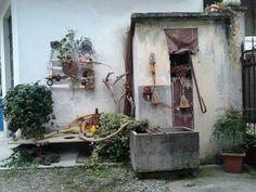 Interno di un cortile...Brandizzo  - Torino