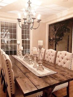 Neat Large Farmhouse Table Long Farm Table Dining Room Table The post Large Farmhouse Table Long Farm Table Dining Room Table… appeared first on Home Decor Designs Trends . Dining Room Decor, Rustic House, Decor, Rustic Farmhouse Living Room, Farmhouse Living, Farm House Living Room, Farmhouse Dining Rooms Decor, Farm Table Dining Room, Farmhouse Dining Room Table