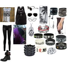 C.J. random by whileyourereadingimeatingpizza on Polyvore featuring Paige Denim, Prada, Valentino, GE, Amrita Singh, Funk Plus, Music Notes, Jewel Exclusive, Bling Jewelry and Zero Gravity