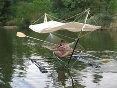 Hammock Boat  - very redneck but still awesome!