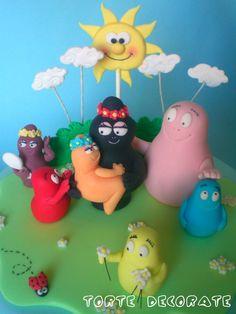 Le torte decorate di Beatrice: Barbapapà