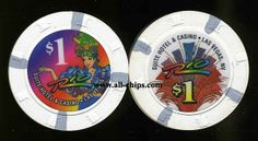 Las Vegas Casino Chip of the Day is a $1 Rio 2nd issue you can order here http://www.all-chips.com/ChipDetail.php?ChipID=1650  Rio is hosting the World Series of Poker right now!