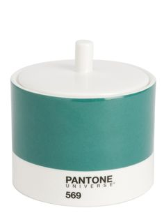 Off Sweet Sugar Cubes Like A Color Lover Should This Pantone Pot Houses Sweeteners In Style Ana Botello Le Kitchen