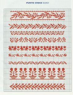 Cross Stitch Sampler - can use for Loom Beadwork  #heartbeadwork  #loombeading