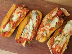 Chicken Cacciatore Subs recipe from Rachael Ray via Food Network