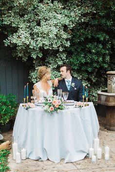 Garden Wedding Inspiration featuring Pastel Hues - Inspired By This Romantic Wedding Inspiration, Wedding Ideas, Sophisticated Bride, Ceremony Decorations, On Your Wedding Day, Spring Wedding, Wedding Reception, Pastel, Elopements