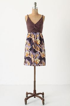 e3c1d57c2b Twining Tree Chemise  anthropologie Slender branches swirl over the  shoulders toward a twisted trunk bodice