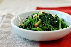 Sigeumchi Namul (Korean Spinach Side Dish) - Korean Bapsang