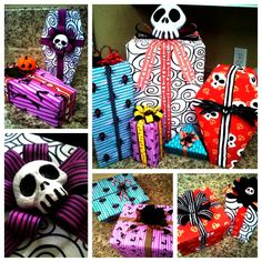 D.I.Y. Nightmare B4 Christmas wrapping paper
