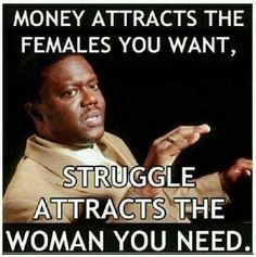 The law of attraction  money & struggles