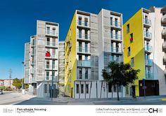 Dwelling 2 facades corner – Page 4 – Collective Housing Atlas Atlas, Facade, Spain, Multi Story Building, Shapes, House, Architects, Fotografia, Home