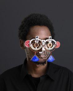 Cyrus Kabiru, 'Njia Ya Maisha, Macho Nne Coca-Cola Mask,' 2015, SMAC ART GALLERY