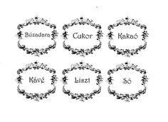 Címke készítés házilag - Hulladékvadász.hu DIY rovat Az eredeti címkéket itt találtam: https://thegraphicsfairy.com/shabby-french-typography-labels/