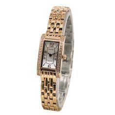 Ladies Luxury Unique Square Watch
