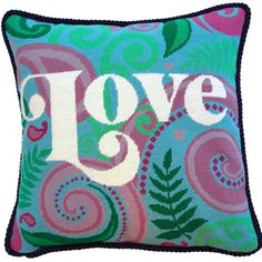 Love Needlepoint Kit from The Stitchsmith