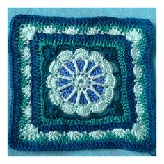 Ravelry: Project Gallery for Gretchen Afghan Square pattern by Julie Yeager
