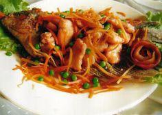 Tasty Culinary: IKAN GURAME ASAM MANIS