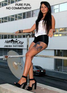 Henna City Jagua Tattoos: Pure fun, no commitment.