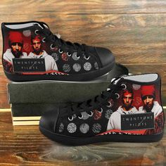 397856ff2953 New Custom Shoes Sneakers TWENTY ONE PILOTS Art Quote Design For Men And  Women Black soles Twp98