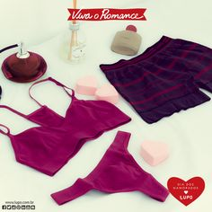 Espalhe amor e deixe o clima de romance no ar, todos os dias do ano. #vivaoromance #diadosnamoradoslupo #underwearlupo