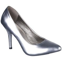 I never thought I'd buy shoes at Target but I came across these Silver Mossimo® pumps and was curious/tried on...they are actually hot and comfy - can't wait to wear out.